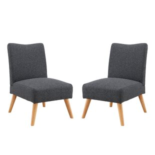 Find a Waldrup Slipper Chair (Set of 2) by George Oliver Reviews (2019) & Buyer's Guide