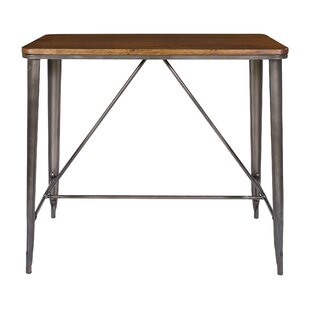Isaac Rectanguar Pub Table by Laurel Foundry Modern Farmhouse