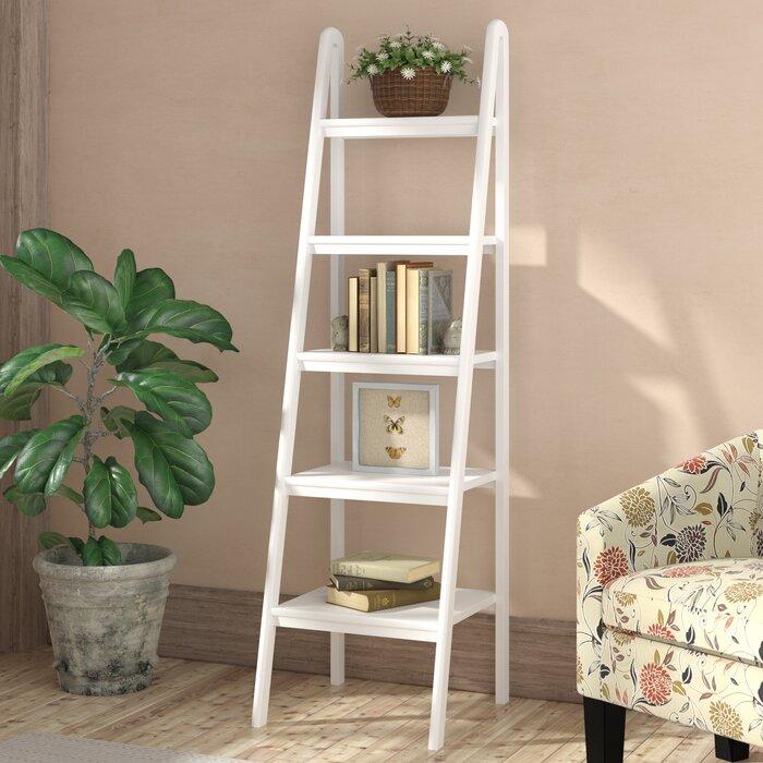 brand new b99de 4a47e Jaycee Ladder Bookcase