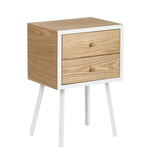 Anatoli End Table with Storage by Turn on the Brights