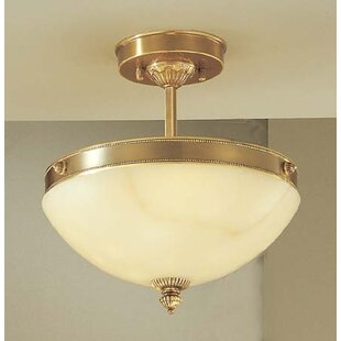 Classic Lighting Mallorca 3-Light Semi Flush Mount