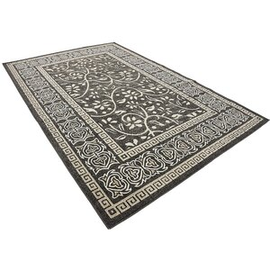 Austin Black Indoor/Outdoor Area Rug