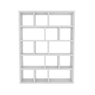 Varga 5 Level Geometric Bookcase by Latitude Run