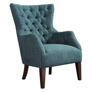 Button Tufted Wingback Chair