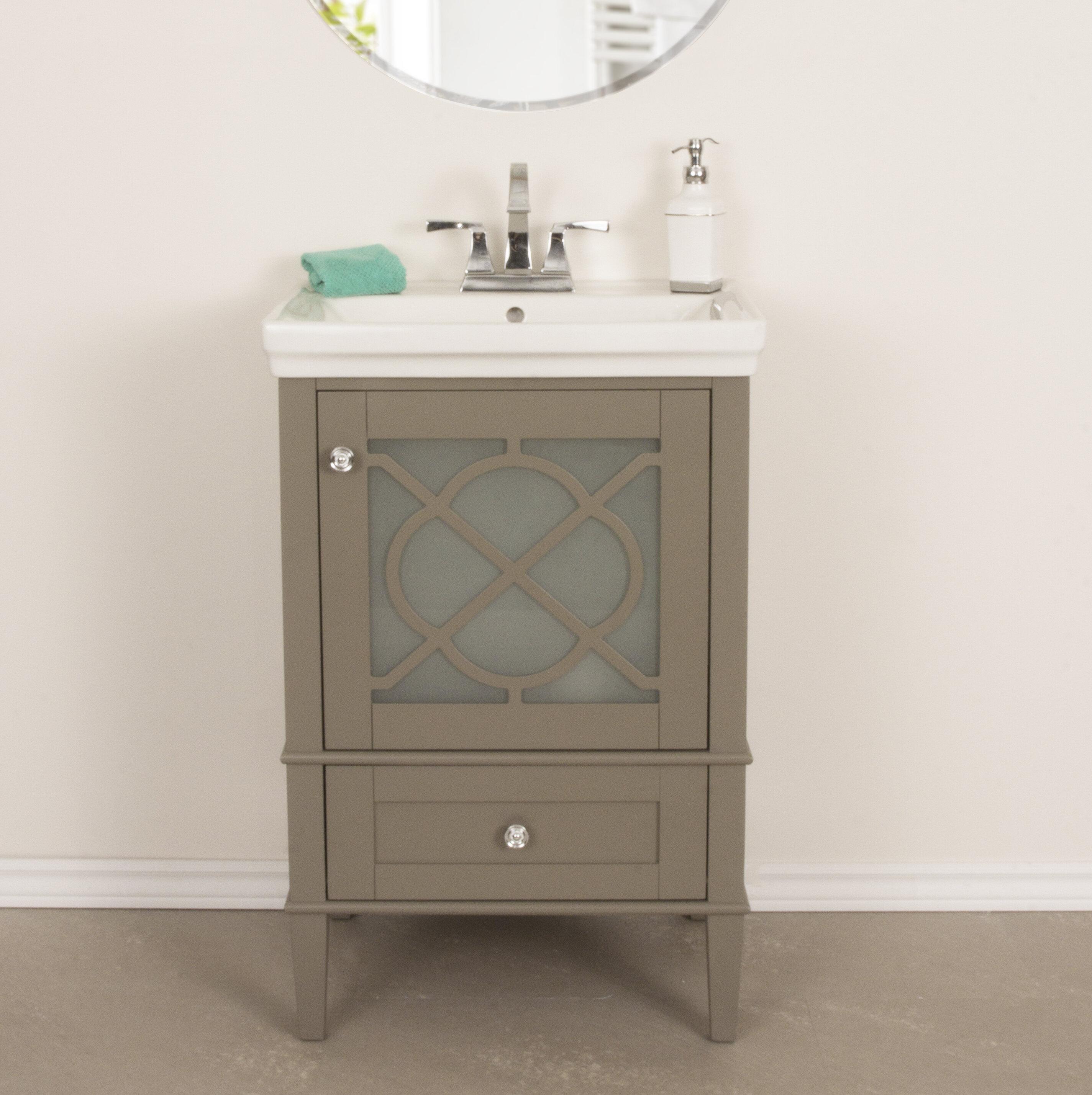Willa Arlo Interiors Wheatley 24 Single Bathroom Vanity Set Reviews Wayfair