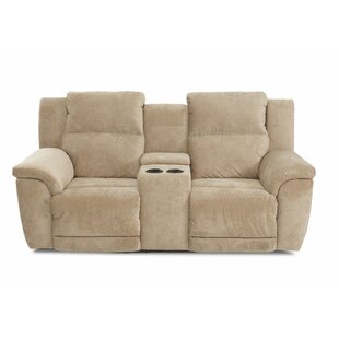Uyen Power Reclining Loveseat with Console by Red Barrel Studio