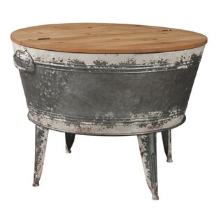 Giacomo Distressed Coffee Table by Rosalind Wheeler