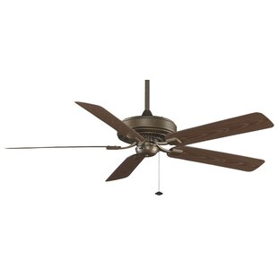 Read Reviews 60 Edgewood Deluxe 5 Blade Outdoor Ceiling Fan By Fanimation