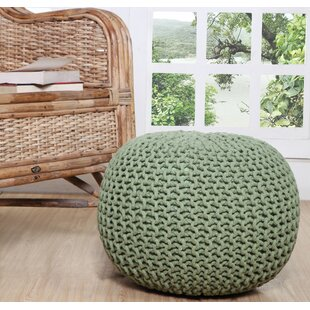 Tremendous Garst Knitted Pouf Cjindustries Chair Design For Home Cjindustriesco