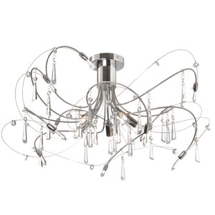 Radionic Hi Tech Firefly 5-Light Semi Flush Mount