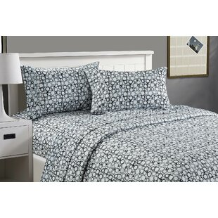 Glenavy Soft Touch Printed Microfiber Sheet Set