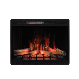 Rayshawn Electric Fireplace Insert by Charlton Home