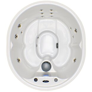 Hudson Bay Spas 5-Person 14-Jet Plug and Play Spa with Stainless Jets and Underwater LED Light