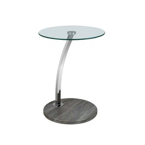 Erika End Table by Orren Ellis