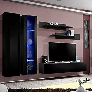 Voigt Floating Entertainment Center For TVs Up To 88
