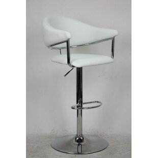 Airstream Adjustable Height Swivel Bar Stool