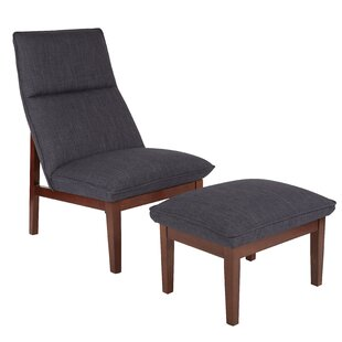Ave Six Cameron Lounge Chair and Ottoman