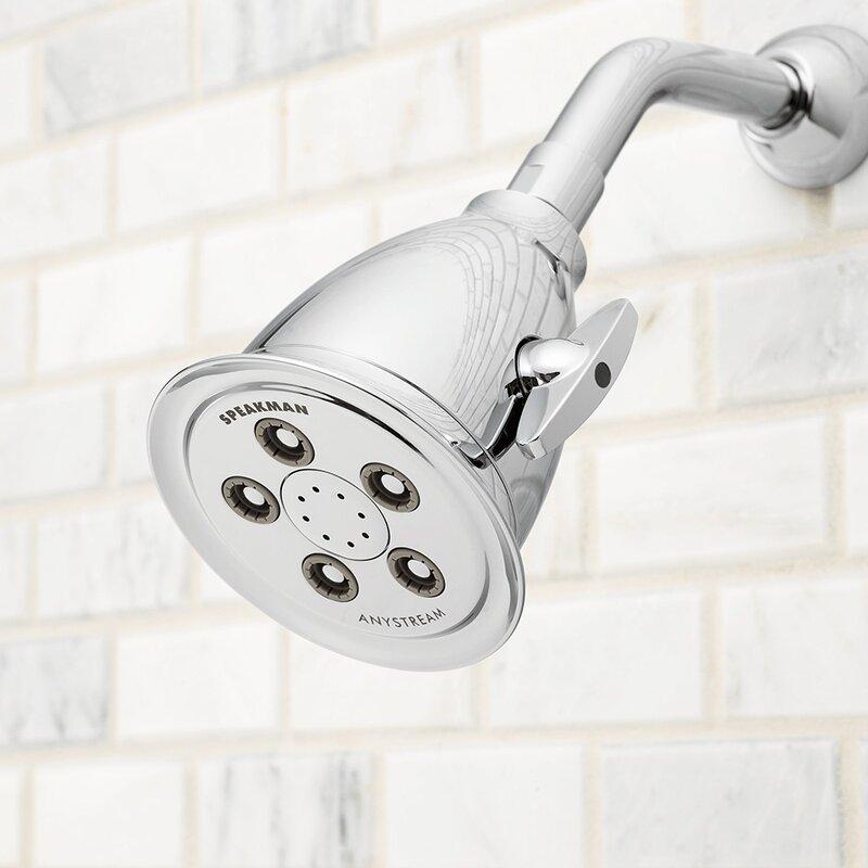 Speakman Hotel 2.5 Multi Function Fixed Shower Head & Reviews   Wayfair