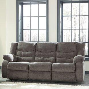 Attrayant Gray Fabric Reclining Sofa   Wayfair
