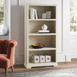 Chloe 4 Shelf Standard Bookcase by Kelly Clarkson Home