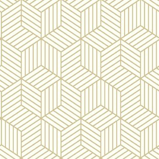 Gold L And Stick Removable Wallpaper