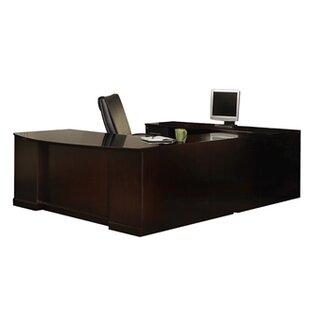 Mayline Group Sorrento Series 4-Piece U-Shape Desk Office Suite