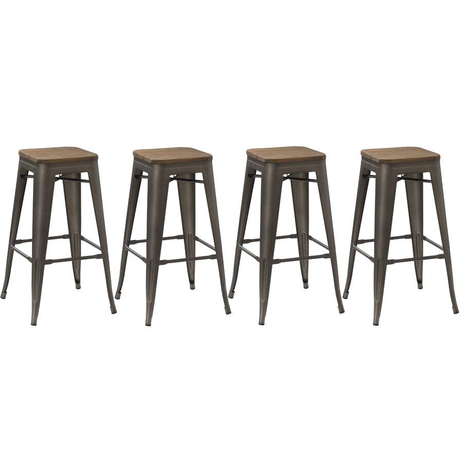 turquoise bar stools wayfair