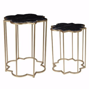 Cheetham 2 Piece Highly Classic End Table Set