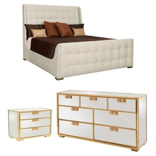 Soho Luxe Sleigh Configurable Bedroom Set