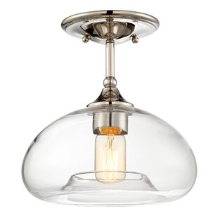 Westerlund 1-Light Semi Flush Mount by Mercury Row
