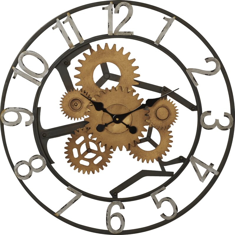 Trent Austin Design Gears Wall Clock Reviews Wayfair