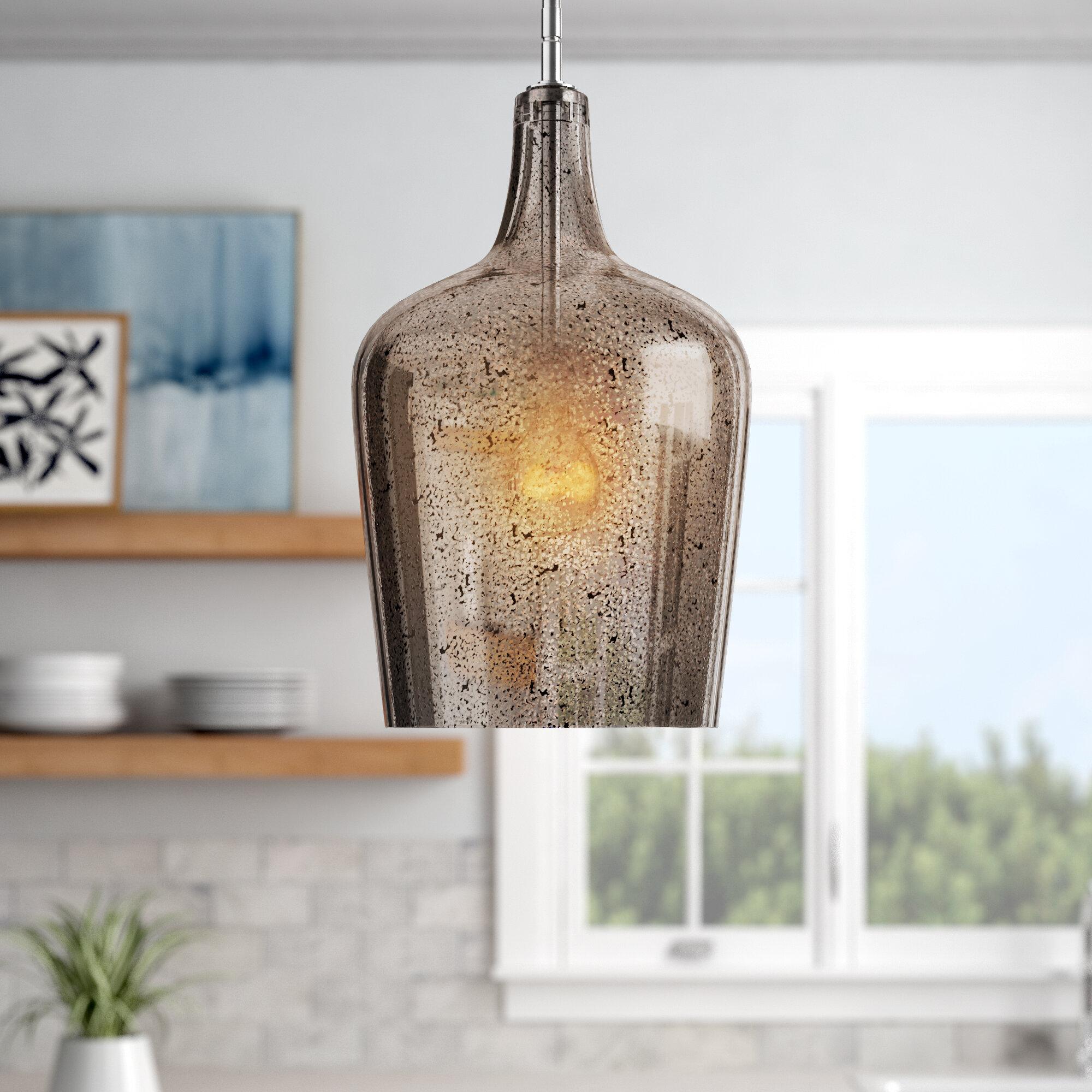 Joss Main Celis 1 Light Single Bell Pendant Reviews Wayfair