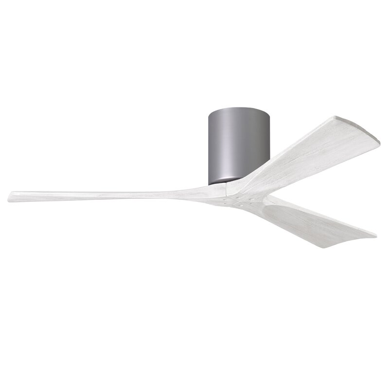 52 Deane 3 Blade Hugger Ceiling Fan With Hand Held And Wall Remote Reviews