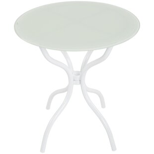 Holiman Commercial Grade Round Aluminum Side Table