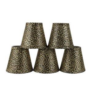 Modern 5 Cheetah Empire Lamp Shade (Set of 5)