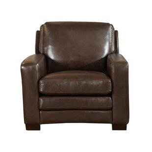 Orren Ellis Hadnot Leather Club Chair