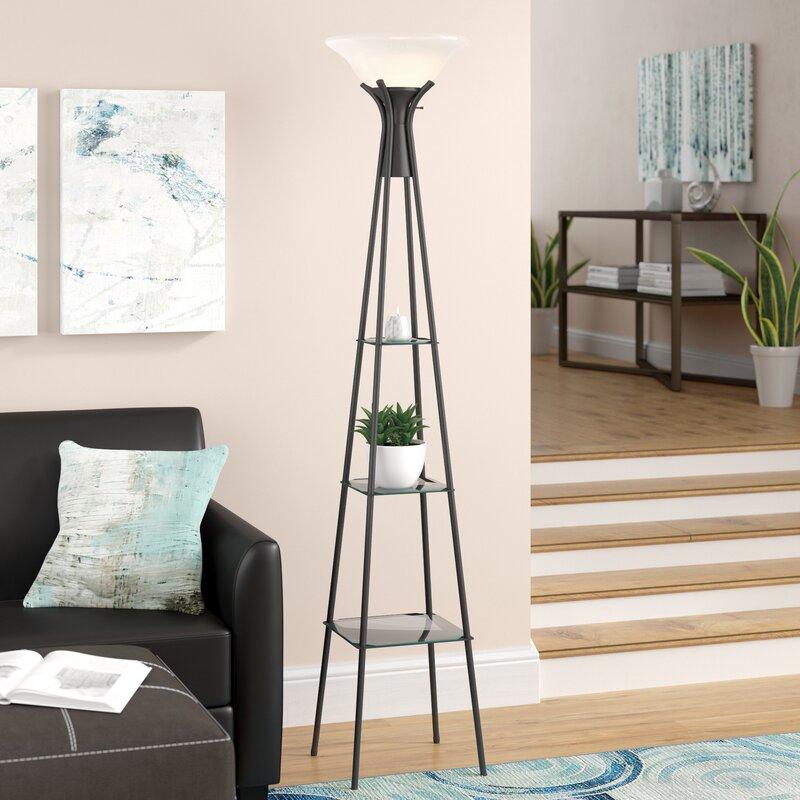 Ivy Bronx Benton Incandescent 70 Quot Torchiere Floor Lamp Amp Reviews Wayfair Ca