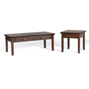 Gosport 2 Piece Coffee Table Set By Three Posts