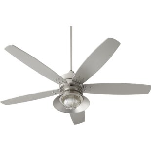 60 Portico 5 Blade Ceiling Fan By Quorum Outdoor Lighting
