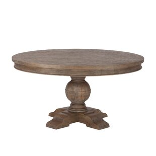 Musson Weathered Teak Dining Table Charlton Home