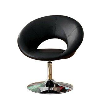 Grebasch Swivel Barrel Chair by Orren Ellis