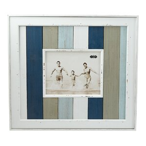 Striped Wood Planked Picture Frame