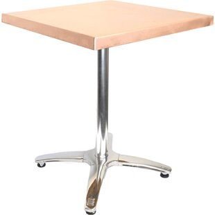 36 in. Square Copper Table Mio Metals