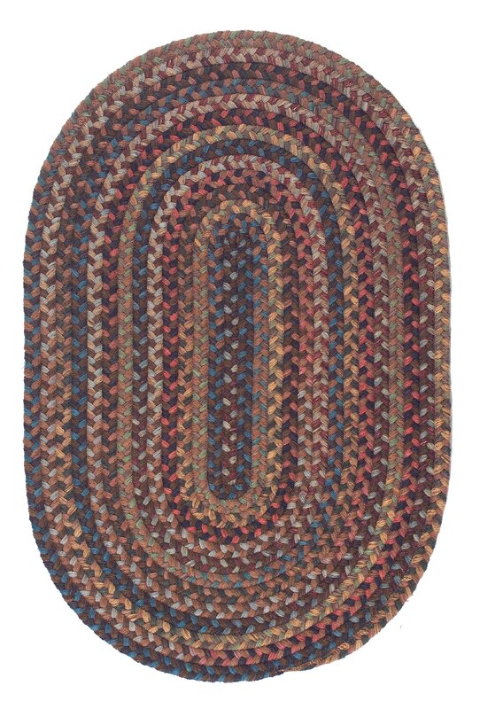 Oak Harbour Braided Wool Rug