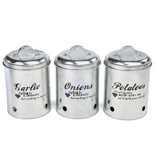 Metal 2.97 qt. Kitchen Canister