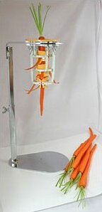 Upright Carrot Peeler and Stand