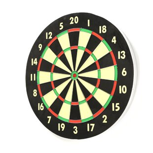Game Room Dart Set with 6 Darts and Board by Trademark Games