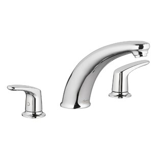 American Standard Colony Pro Double Handle Deck Mount Tub Filler Trim