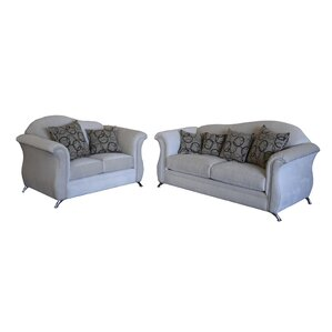 Ricky 2 Piece Living Room Set by Gardena Sofa