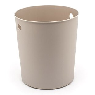 room360°byFOH® Cylinder Liner Plastic 2.25 Gallon Waste Basket (Set of 4)